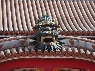 正殿の龍ー首里城ー