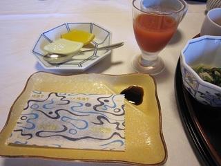 水明館の朝食