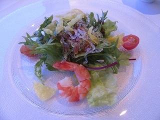 海の幸入り 中国風サラダ