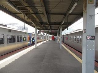 JR函館駅ホーム