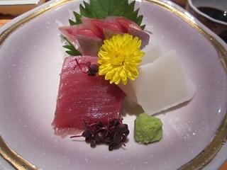 地魚鮮魚三種盛り