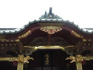御社殿−根津神社−